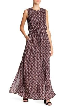 Daniel Rainn DR2 by Woven Tie Waist Maxi Dress (Petite)