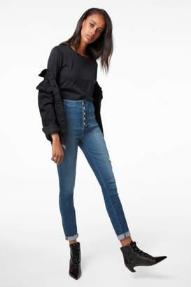 J Brand Natasha Sky-High Super Skinny In Mystic Wave
