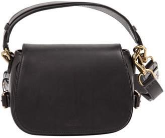 Polo Ralph Lauren Black Leather Handbag