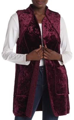 Laundry by Shelli Segal Reversible Faux Fur Vest