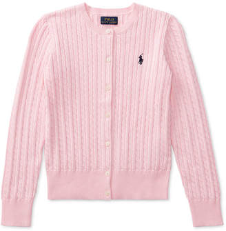 Polo Ralph Lauren Ralph Lauren Little Girls Cable Cardigan