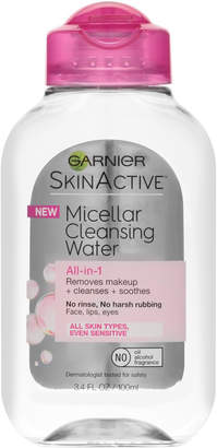 Garnier SkinActive Micellar Cleansing Water All-in-1 Cleanser & Makeup Remover $3.99 thestylecure.com