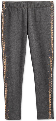 Epic Threads Little Girls' Mix and Match Glitter Tuxedo Leggings, Only at Macy's $16 thestylecure.com