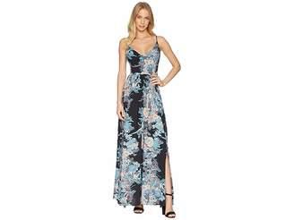 Free People Through The Vine Printed Maxi Women's Dress