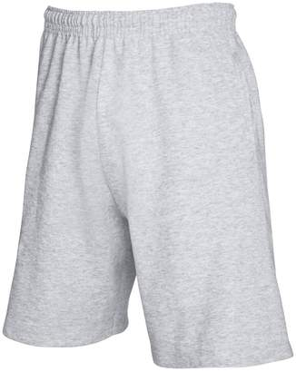 Fruit of the Loom Mens Lightweight Casual Fleece Shorts (240 GSM) (M)