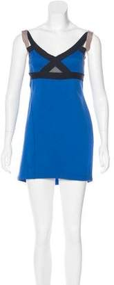 VPL Sleeveless Mini Dress