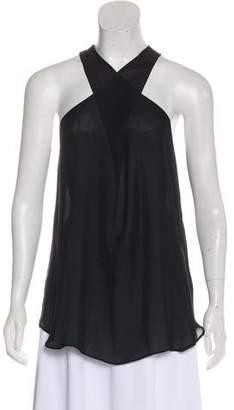 Nili Lotan Sleeveless Silk Top