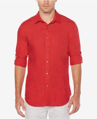 Perry Ellis Men Textured Shirt