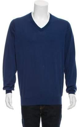 Brunello Cucinelli Knit V-Neck Sweater