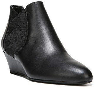 Women's Via Spiga 'Harlie' Chelsea Wedge Boot $250 thestylecure.com