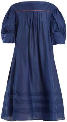 Thierry Colson Jours De Venise puff-sleeve dress