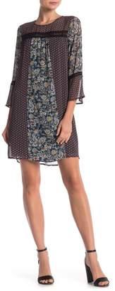 Daniel Rainn DR2 by Twin Print Lace Print Dress