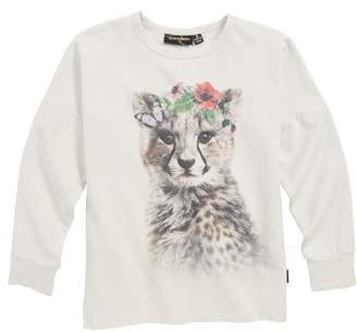Rock Your Kid Floral Cheetah Tee