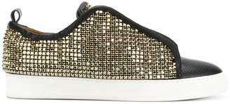 Dioniso Black SWR crystal coated sneakers