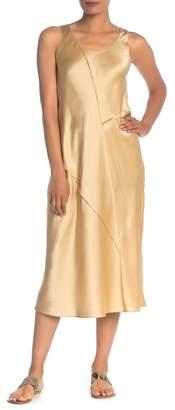 Vince Bias Silk Midi Slip Dress