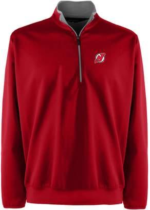 New Jersey Devils 1/4-Zip Leader Pullover - Men