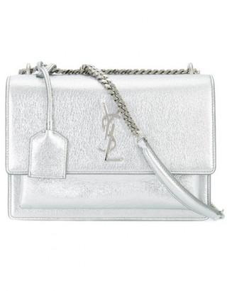 Saint Laurent small Sunset Monogram satchel $2,150 thestylecure.com