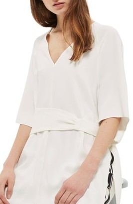 Women's Topshop Belted Kimono Tunic $90 thestylecure.com