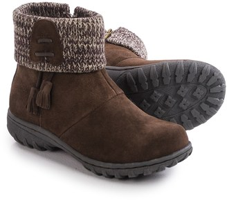 Khombu Katie Apres Ski Boots - Waterproof, Insulated, Suede (For Women) $34.99 thestylecure.com