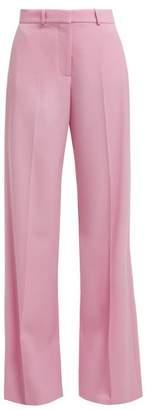 Stella McCartney High Waist Tailored Trousers - Womens - Pink