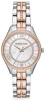 Michael Kors Women's Lauryn Three-Hand Two-Tone Stainless Steel Watch