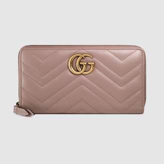Gucci GG Marmont zip around wallet