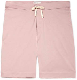 Oliver Spencer Loungewear - Supima Cotton-Jersey Shorts