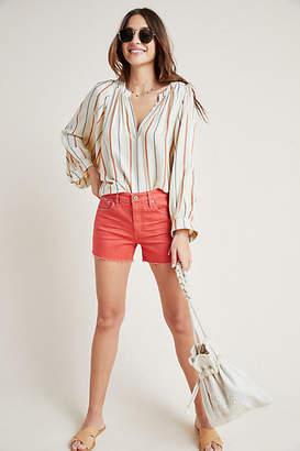 AG Jeans The Hailey High-Rise Denim Shorts