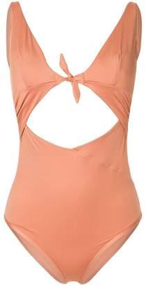 Monroe Duskii cut-out swimsuit