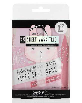 Soko Yellowstone Ready Coconut 3 Pack Mask