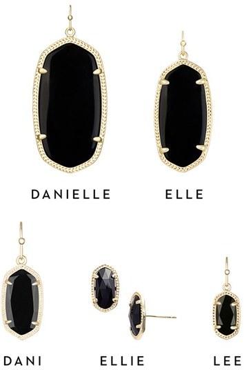 Women's Kendra Scott 'Danielle - Large' Oval Statement Earrings 5