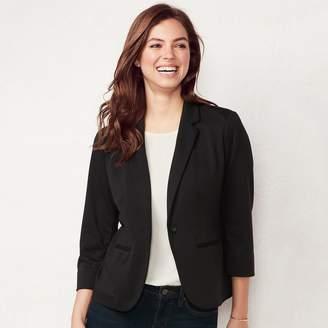 Lauren Conrad Petite Fitted Blazer