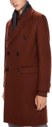 Scotch & Soda Double-Breasted Topcoat