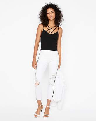 Express One Eleven Strappy Front Abbreviated Cami