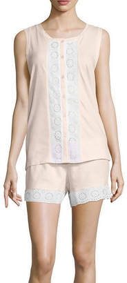 Asstd National Brand Pacifica Short Pajama Set