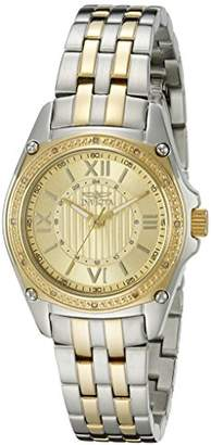 "Invicta Women's 16322 ""Angel"" Diamond-Accented Two-Tone Stainless Steel Bracelet Watch"
