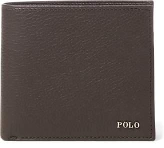 Ralph Lauren Metal-Plaque Leather Billfold