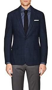 Ralph Lauren Purple Label Men's Checked Cashmere Two-Button Sportcoat - Blue