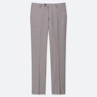 Uniqlo Men's Stretch Wool Flat Front Pants