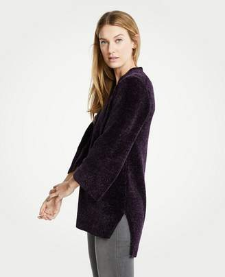 Ann Taylor Chenille V-Neck Tunic Sweater