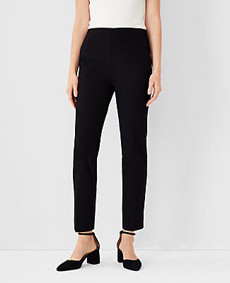 Ann Taylor The Side-Zip Ankle Pant in Bi-Stretch