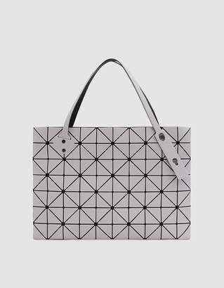 Bao Bao Issey Miyake Rock Matte Large Tote in Light Grey