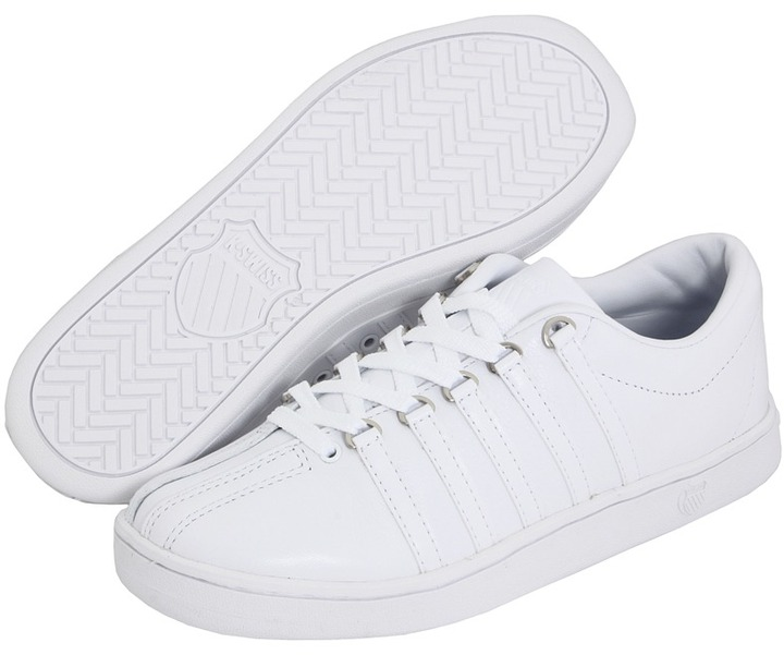 K-Swiss The Classic (White/White) - Footwear