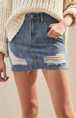 Pacsun Vintage 5-Pocket Mini Skirt
