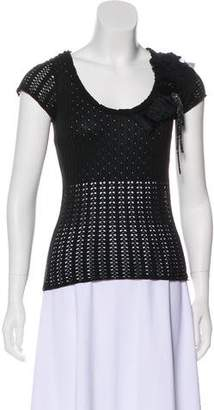 Christian Lacroix Embellished Knit Top