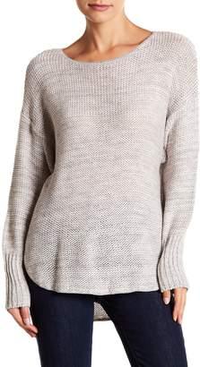 Susina Twist Shirt Tail Pullover Sweater (Regular & Petite)