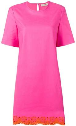 Emilio Pucci Sangallo Embroidered Shift Dress