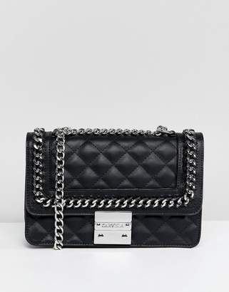Carvela Bailey Quilted Chain Shoulder Bag