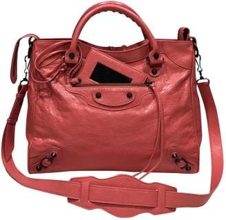 Balenciaga Velo Leather Crossbody Bag
