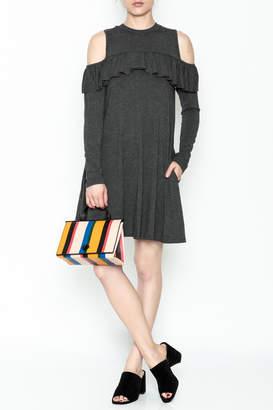 Elan International Ruffle Swing Dress